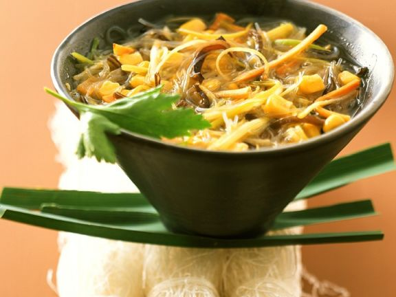 Glass Noodle Soup with Vegetables