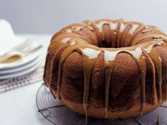 Glazed Coffee Bundt Cake