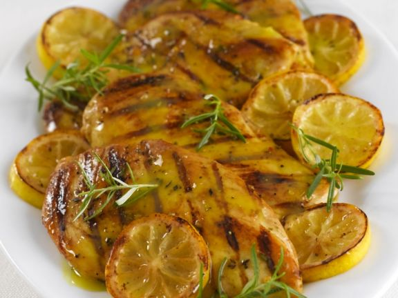 Glazed Lemon and Rosemary Chicken
