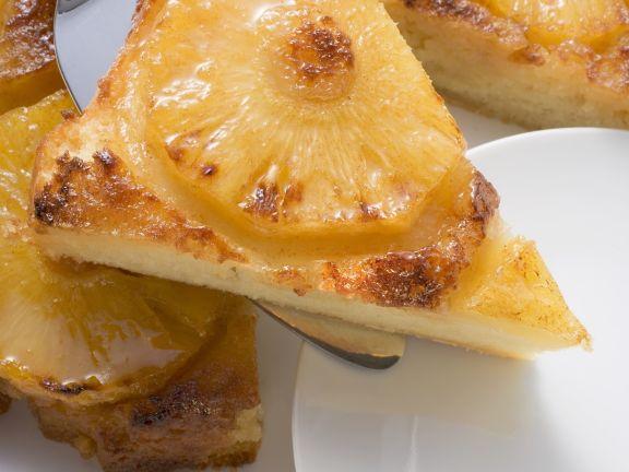 Glazed Pineapple Upside-down Cake