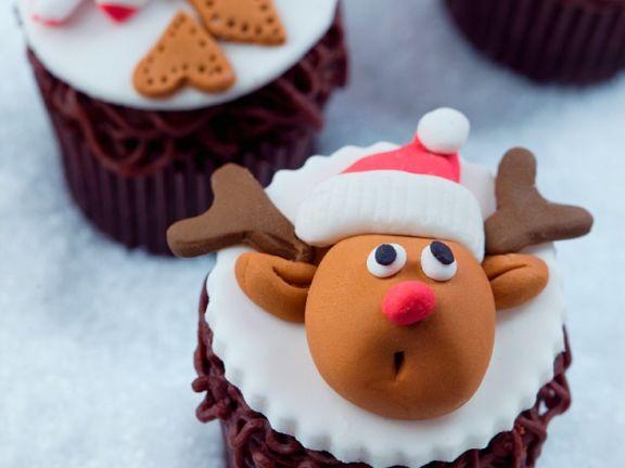 Gluten Free Festive Chocolate Muffins