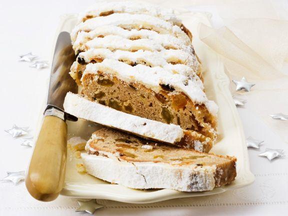 Gluten Free German Marzipan Fruit Bread
