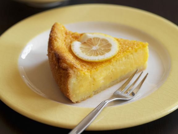 Gluten Free Lemon Cream Flan