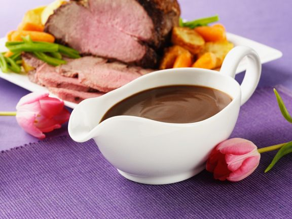 Gluten Free Red Wine Sauce for Meat