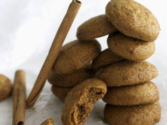 Gluten Free Spiced Hazelnut Cookies