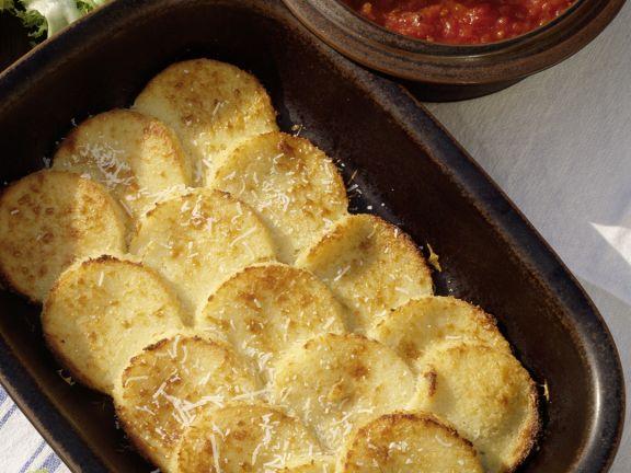 Gnocchi Alla Romana with Tomato Sauce