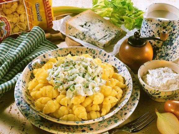 Gnocchi with Gorgonzola Cream Sauce