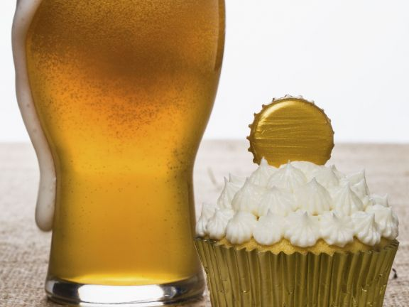 Golden Beer Muffins