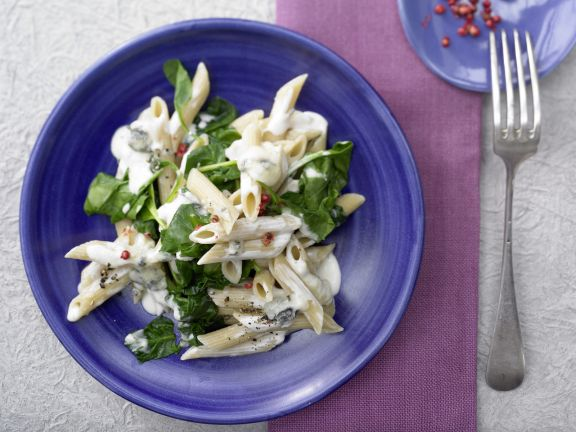 Gorgonzola and Spinach Pasta