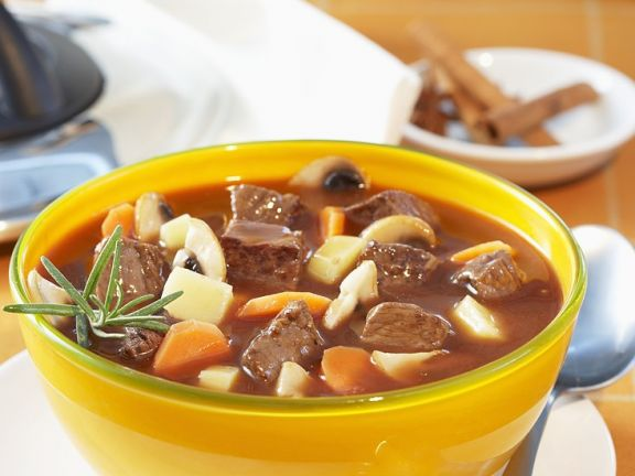 Goulash with Gingerbread Spice Sauce