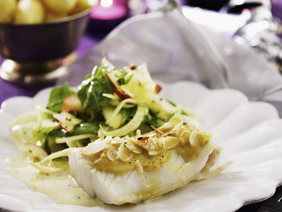 Gourmet Fish with Nutty Sauce