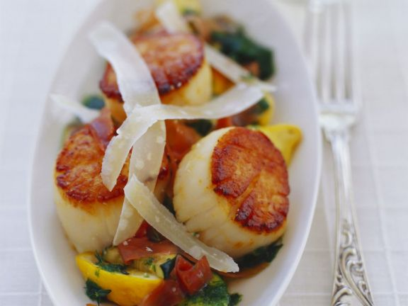 Gourmet scallop dishes recipe eat smarter usa gourmet scallop dishes forumfinder Images