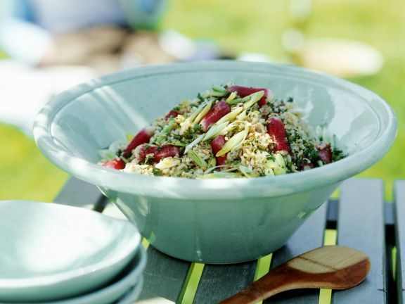 Grain Salad Bowl with Veggies