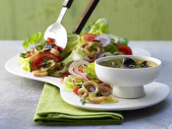 Greek Squid Salad