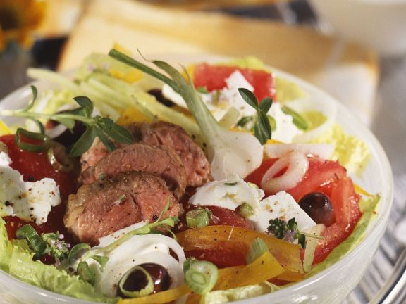 Greek-style Salad Bowl