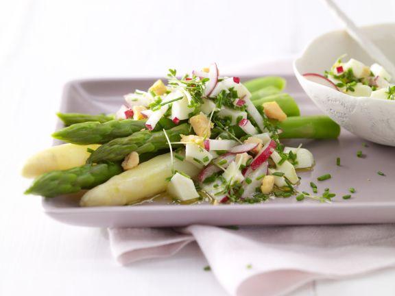 Asparagus with Egg Vinaigrette