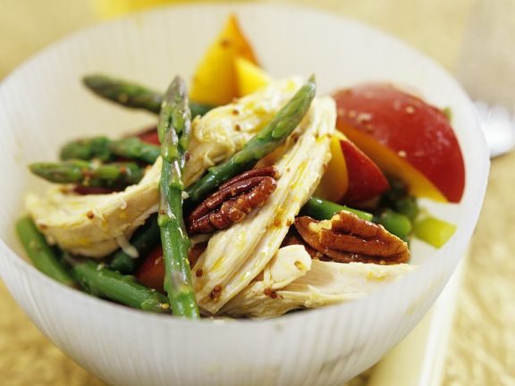 Green Asparagus with Chicken