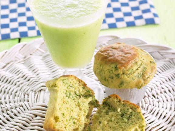 Green Herb Savoury Cakes