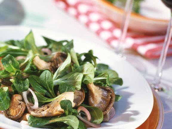 Green Salad with Mushrooms