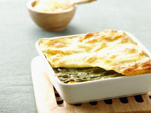 Green Vegetable Pasta Bake
