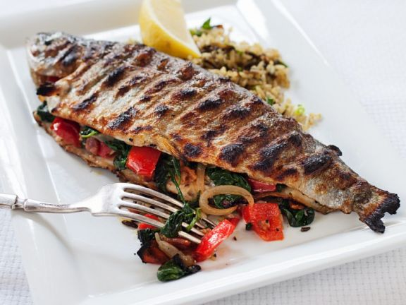 Grilled and Filled Fish