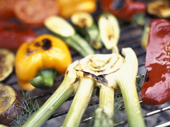 Grilled and Marinated Vegetables