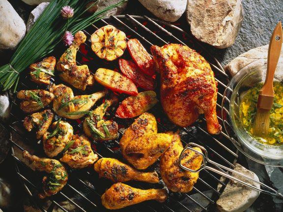 Grilled Chicken 3 Ways