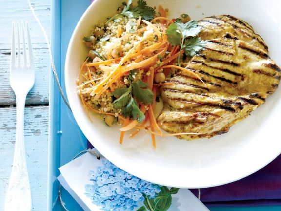 Grilled Chicken with Asian Salad