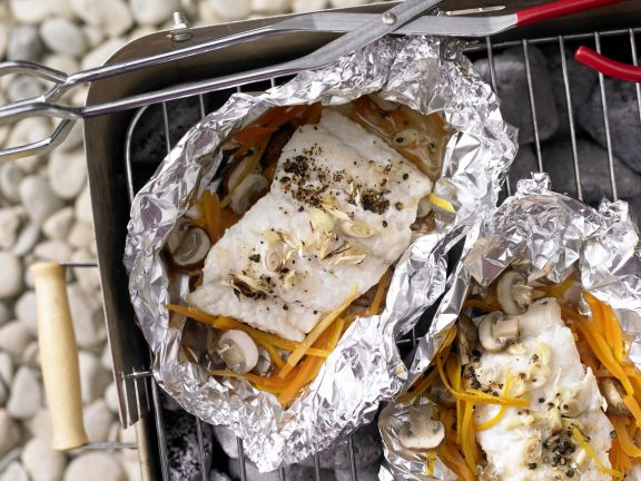 Grilled Fish Packets