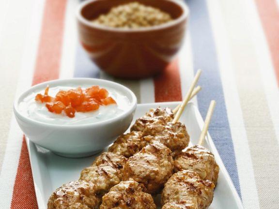 Grilled Ground Beef Kebabs