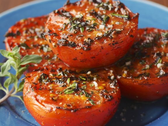 Grilled Tomatoes with Herbs