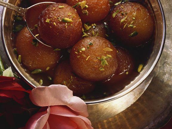 Gulab Jamun (Milk Powder Balls)