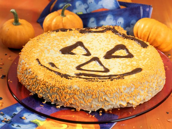 Halloween Carrot-pumpkin Cake