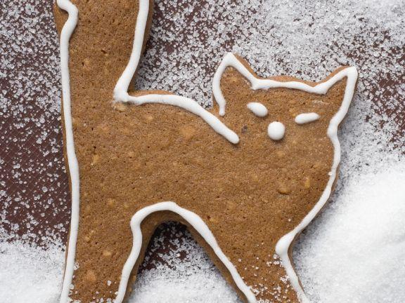 Halloween Cat Cookie