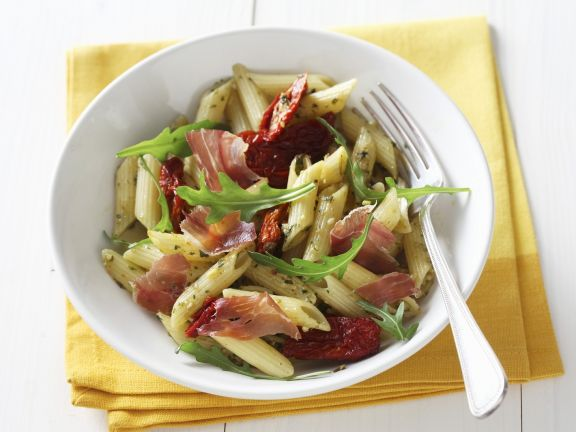 Ham and Arugula Pasta Bowl