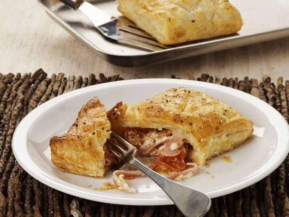 Ham and Cheese Parcels
