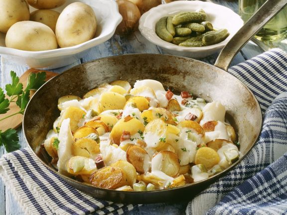 Hamburg Style Fish with Potatoes
