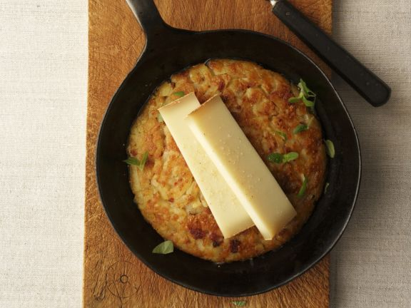 Hash Browns with Gruyere Cheese
