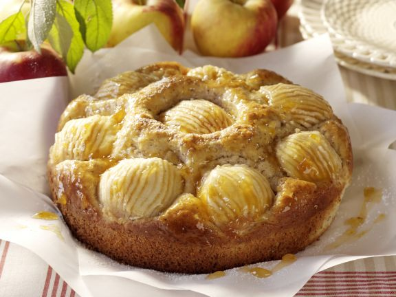 Hazelnut and Apple Cake