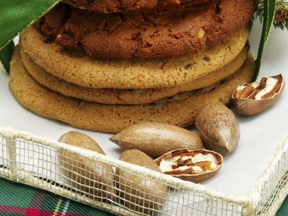 Hazelnut Cinnamon Cookies
