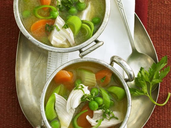 Healthy Chicken and Veg Broth