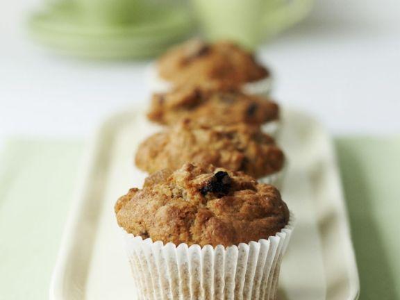 Healthy Raisin Cupcakes
