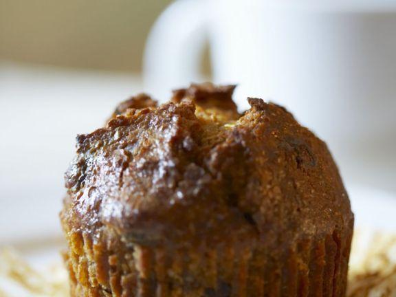 Healthy Raisin Muffins