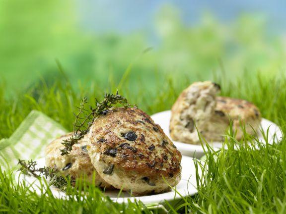 Healthy Turkey Patties with Feta
