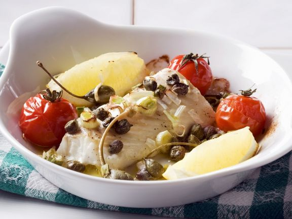 Healthy White Fish Bake