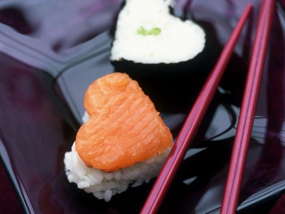 Romantic Sushi Pieces