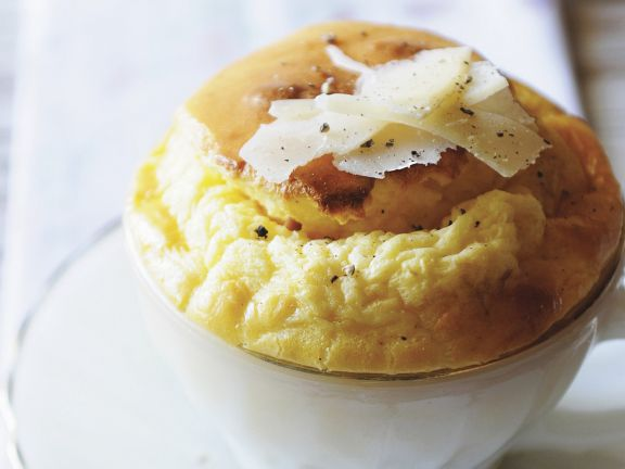 Hearty Cheese and Mustard Souffle