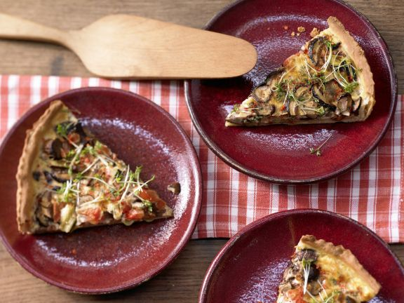 Hearty Tart with Mushrooms