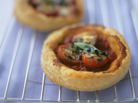 Herb and Tomato Tarts