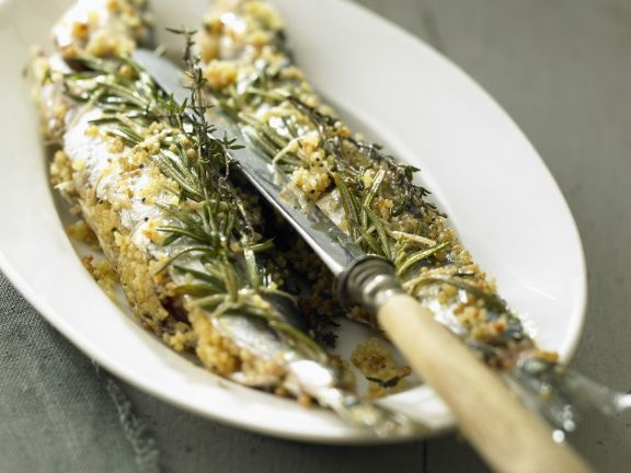 Herb-crusted Oily Fish